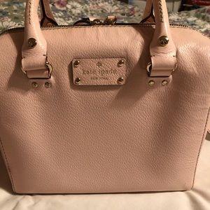 Kate ♠️ Spade Alessa Wellesley leather satchel